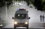 В российских туристов в Белеке въехал грузовик